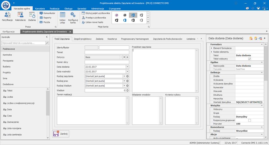 Zarządzanie procesami biznesowymi w Connecto DMS